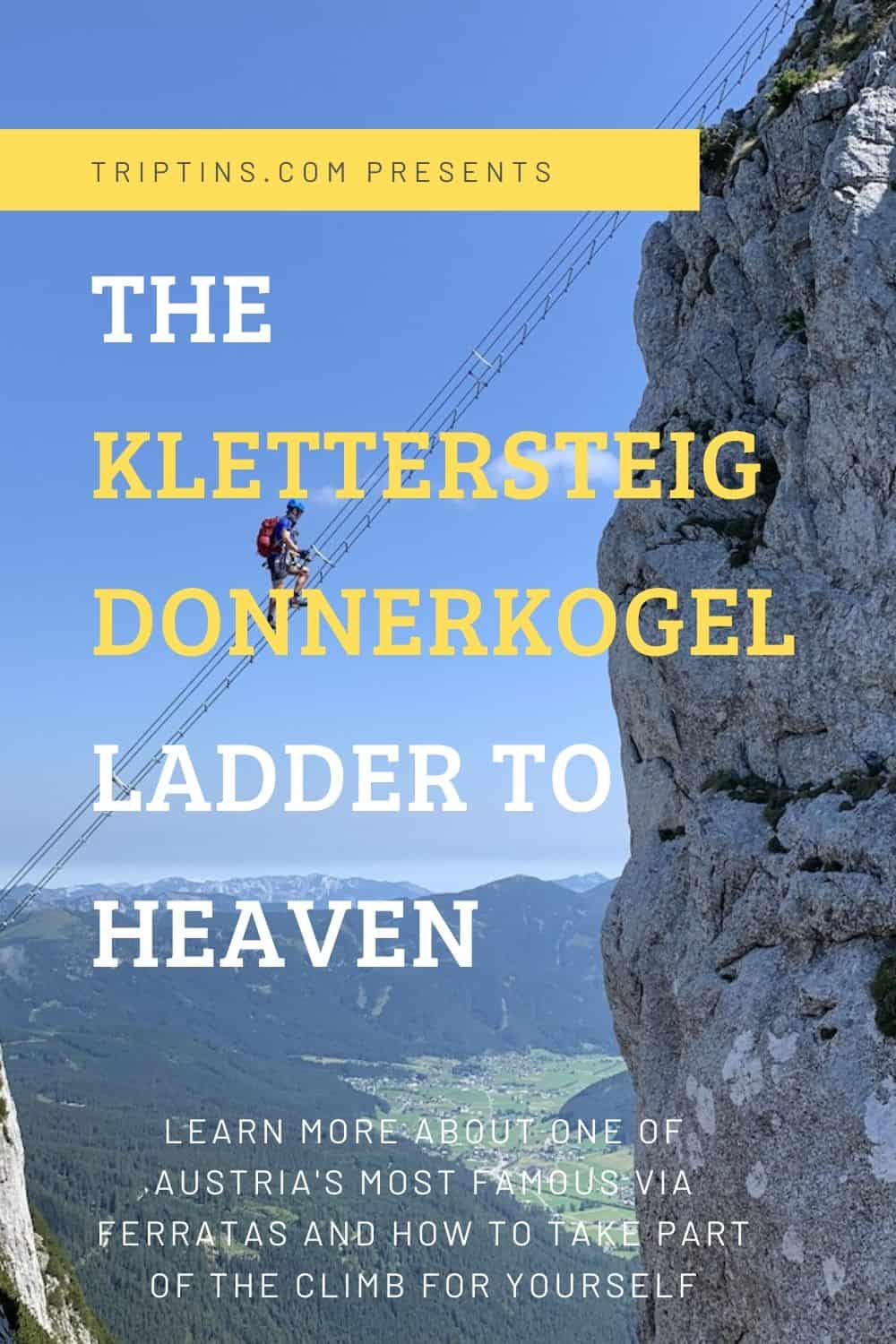 The Klettersteig Donnerkogel