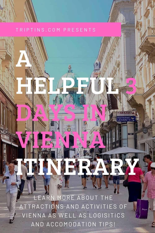 Vienna Itinerary 3 Days