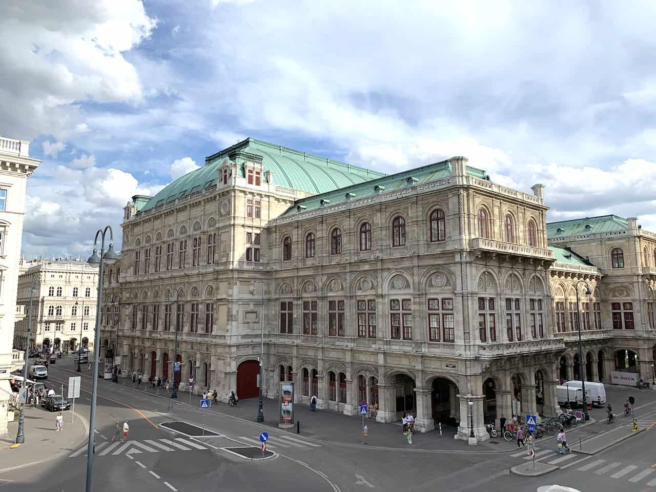 Vienna Opera House View