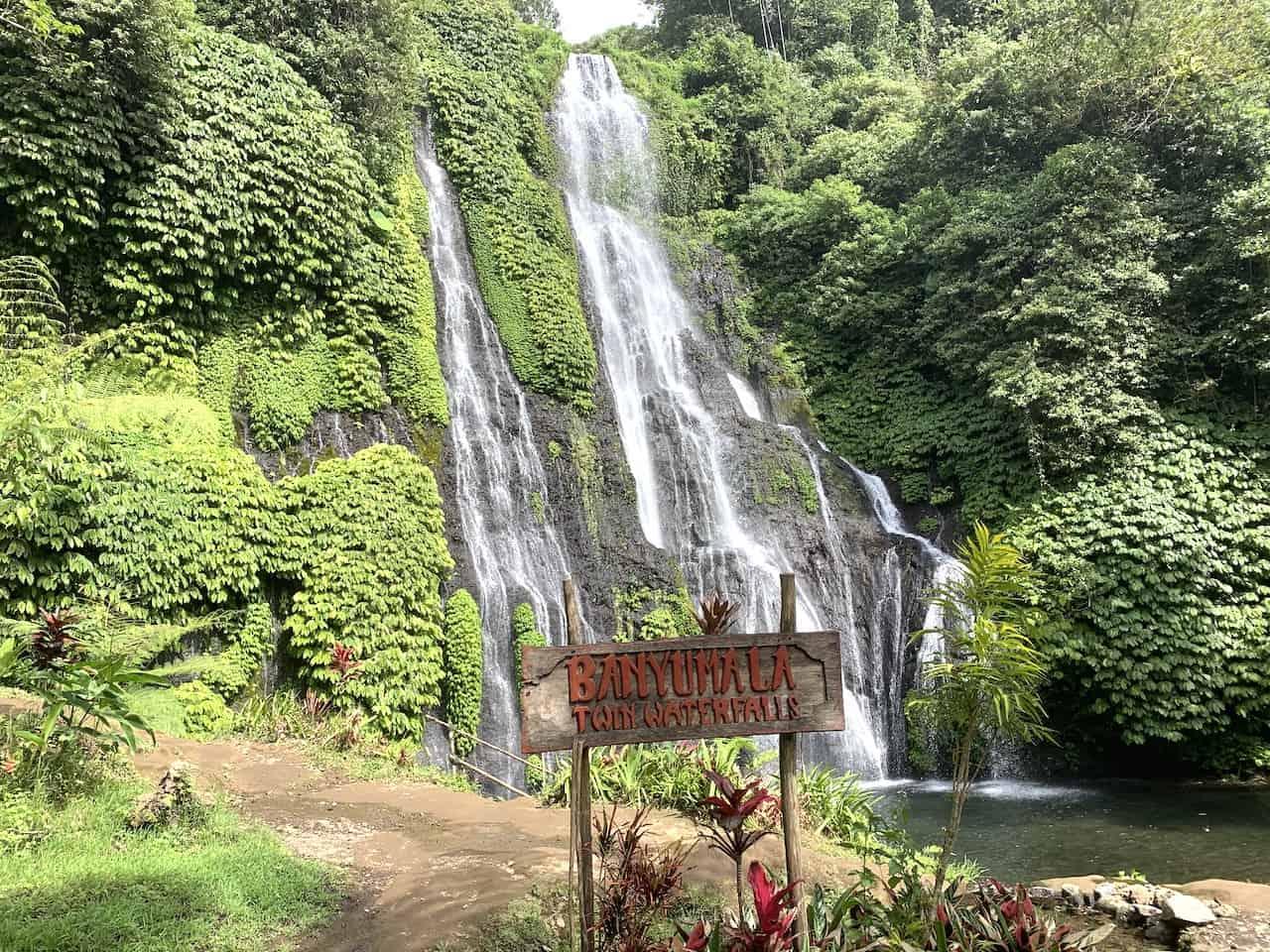 Banyulama Twin Waterfall Bali