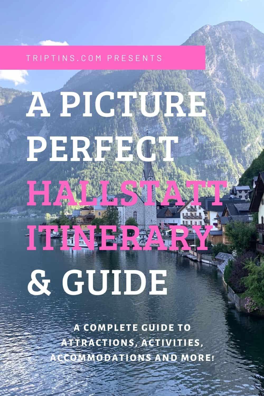 Hallstatt Itinerary Austria