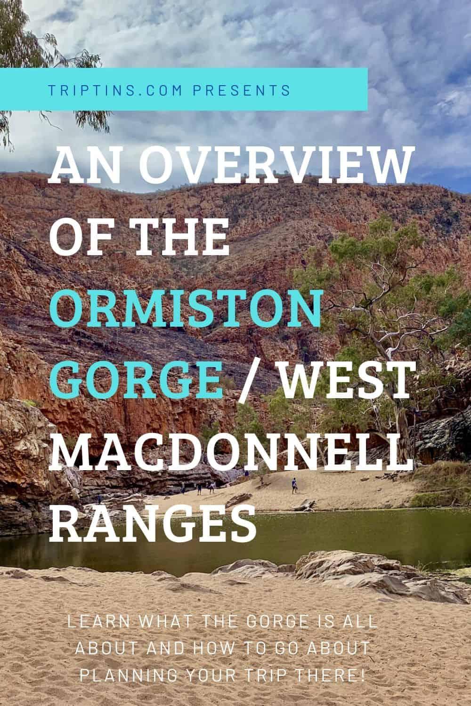 Ormiston Gorge Guide