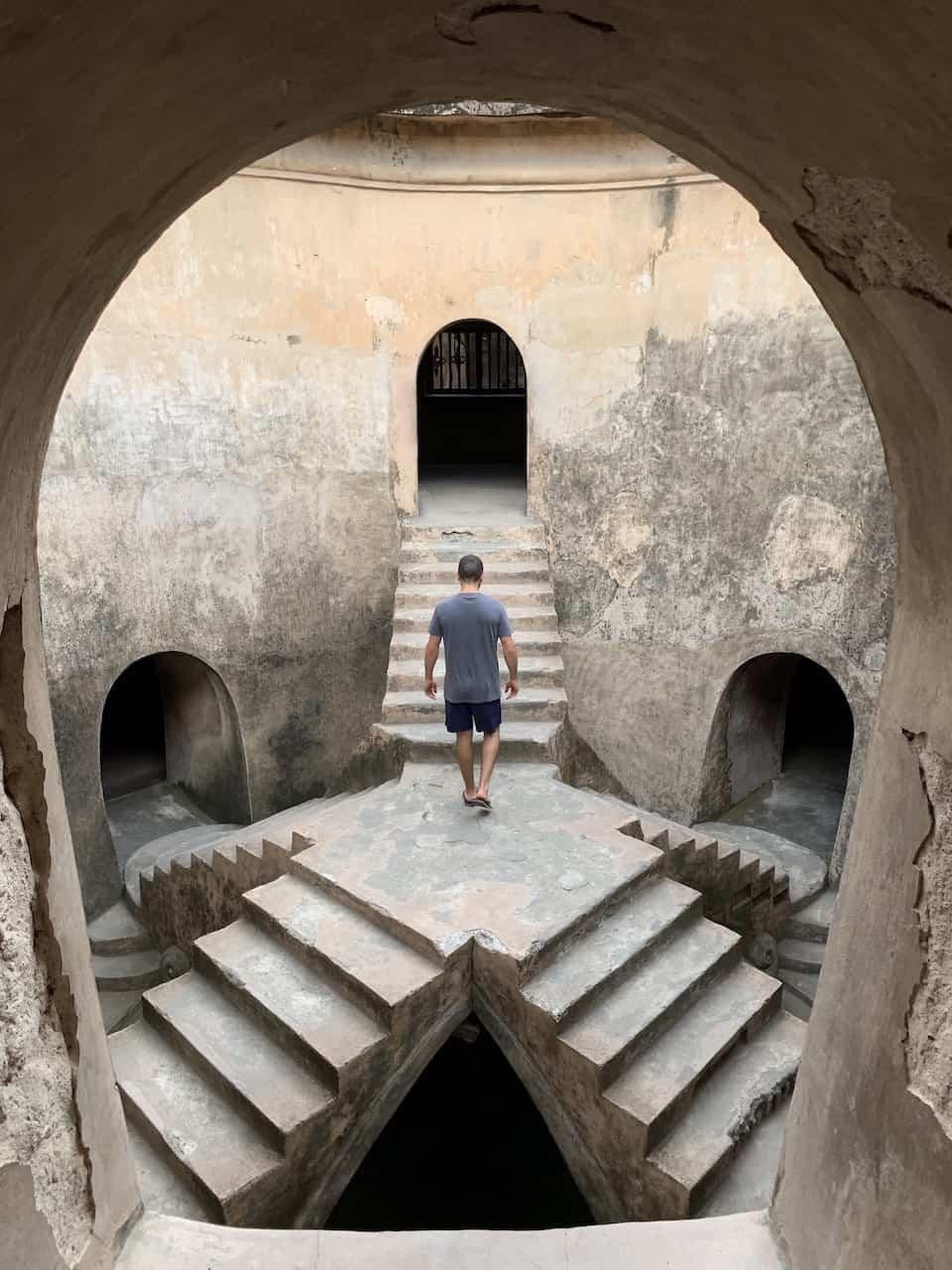 Sumur Gumuling Underground Mosque