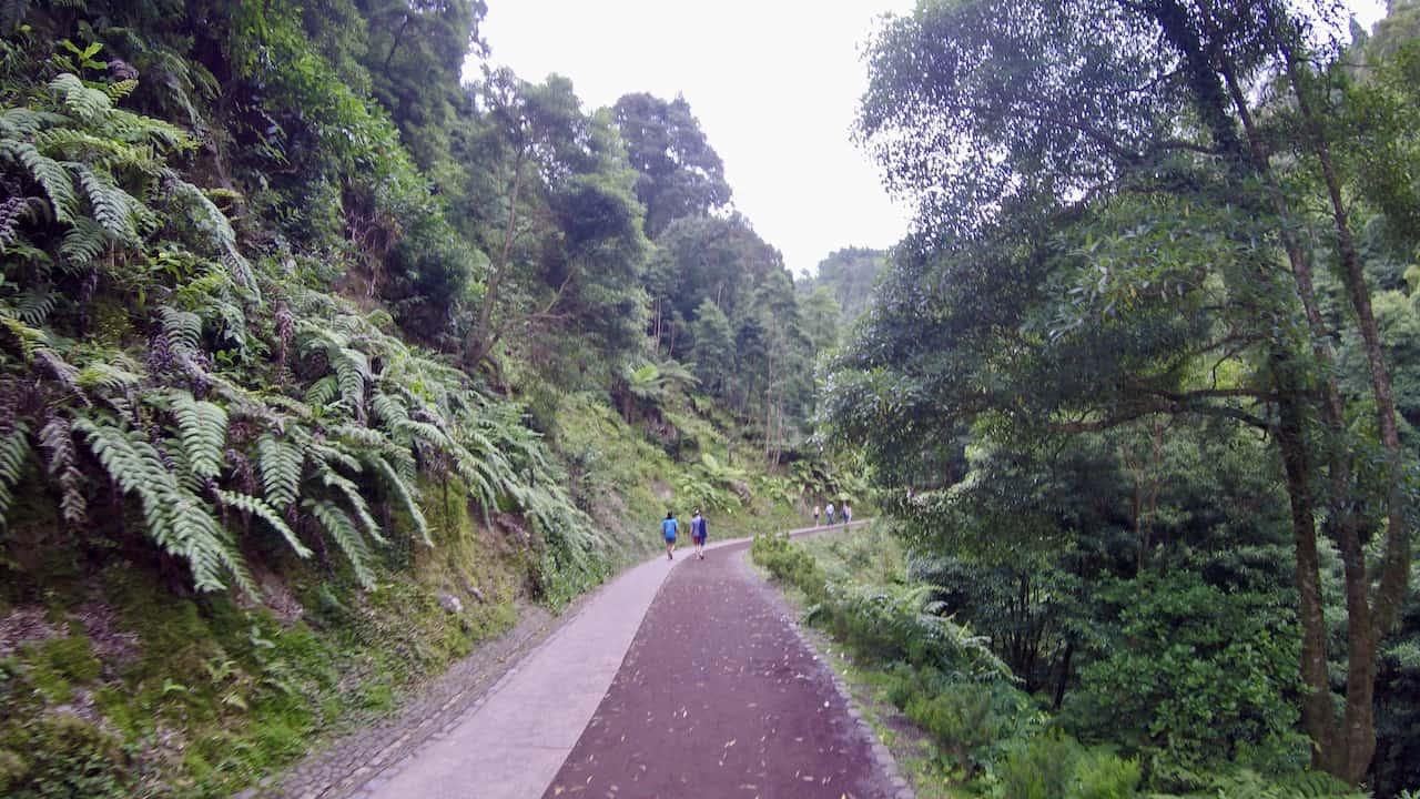 Caldeira Velha Trail