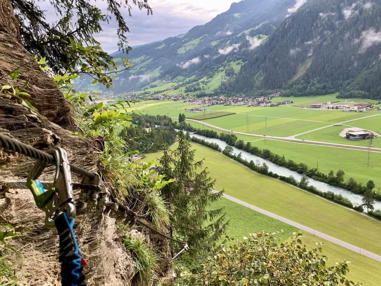 Carabiners Klettersteig
