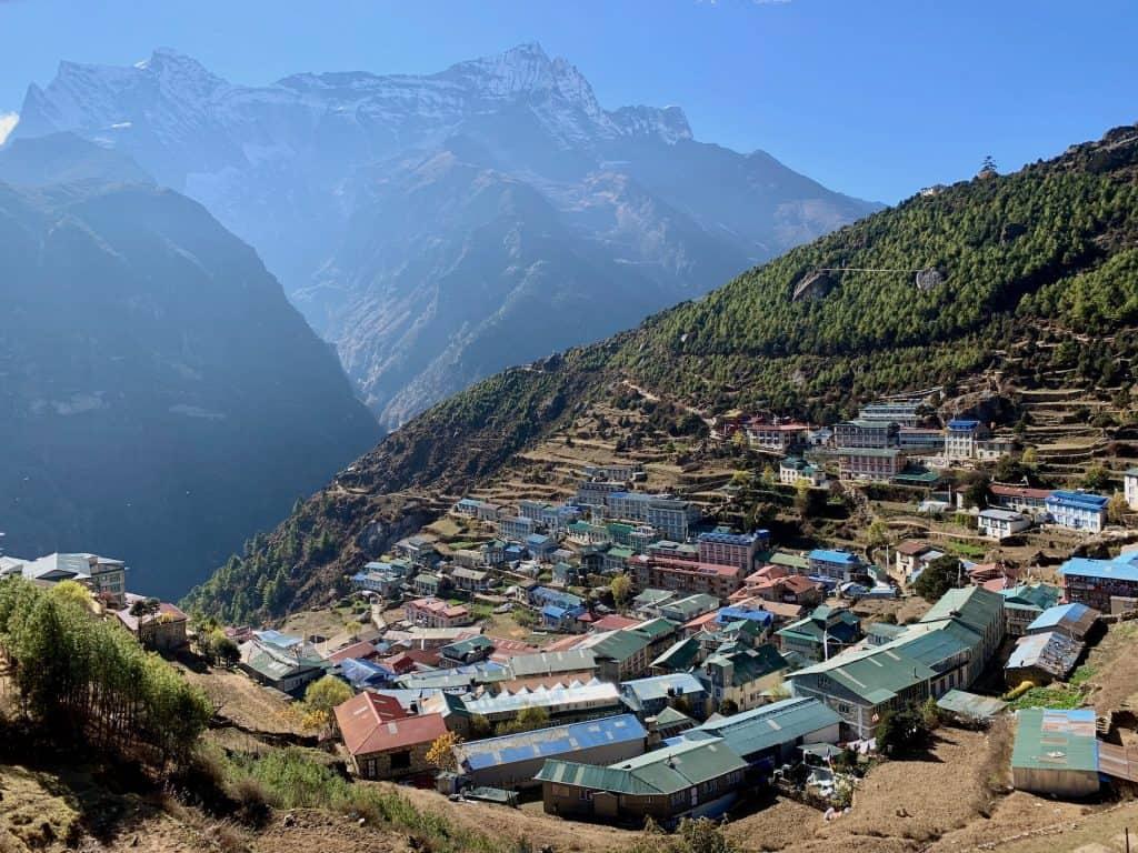 Everest Base Camp in November