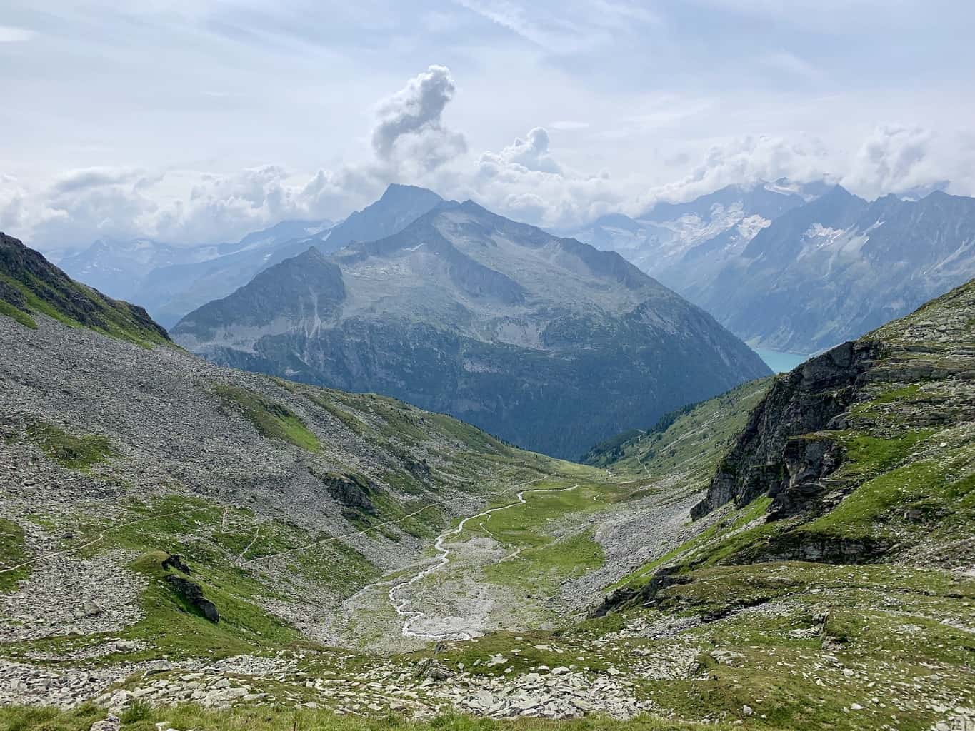 The Friesenberghaus Hike of the Zillertal Valley
