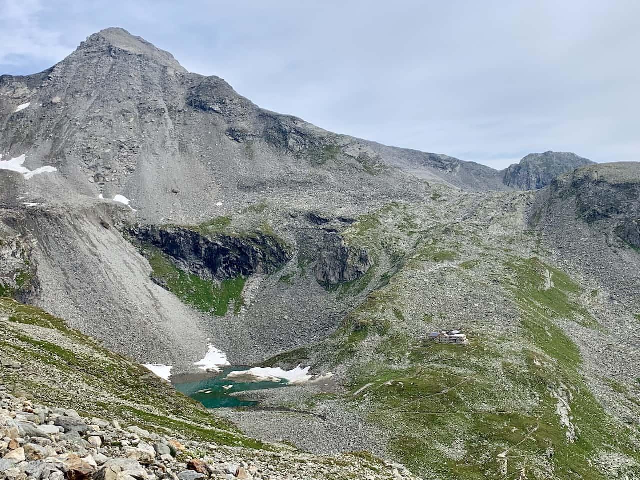 Friesenberghaus Lake