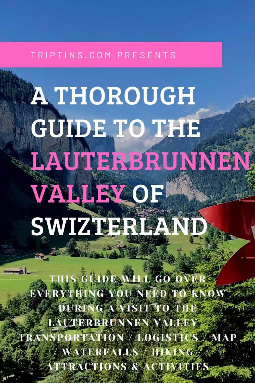 Lauterbrunnen Valley Guide