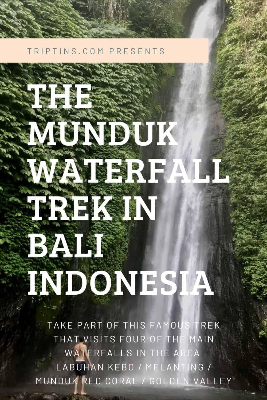 Munduk Waterfall Hike Bali