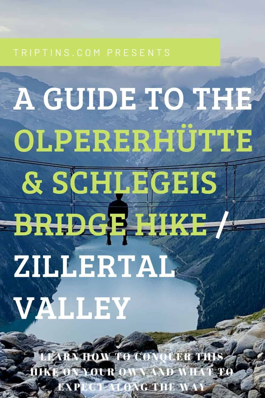 Olperer Hut Hike Austria