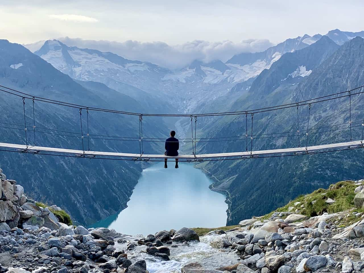 Olpererhütte Bridge Hike