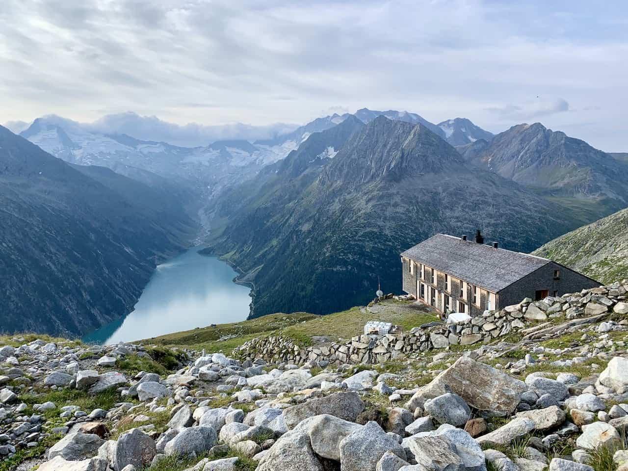 Olpererhütte Hike Austria