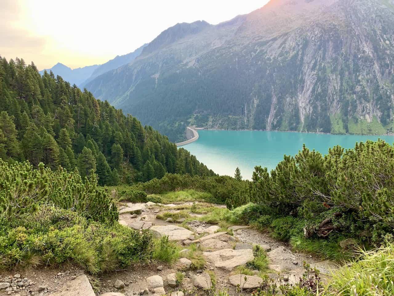 Schlegeis Reservoir Hike