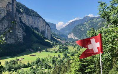 The Lauterbrunnen Valley