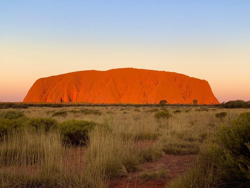 Uluru Sunset and Sunrise