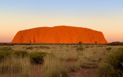 Uluru Sunset and Sunrise