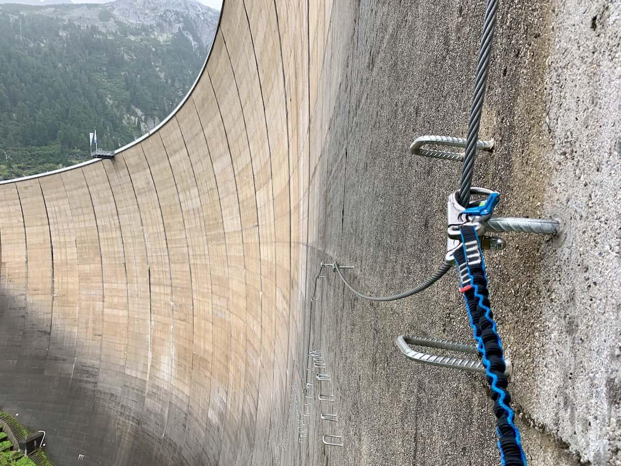 Via Ferrata Klettersteig Fixed Line Austria