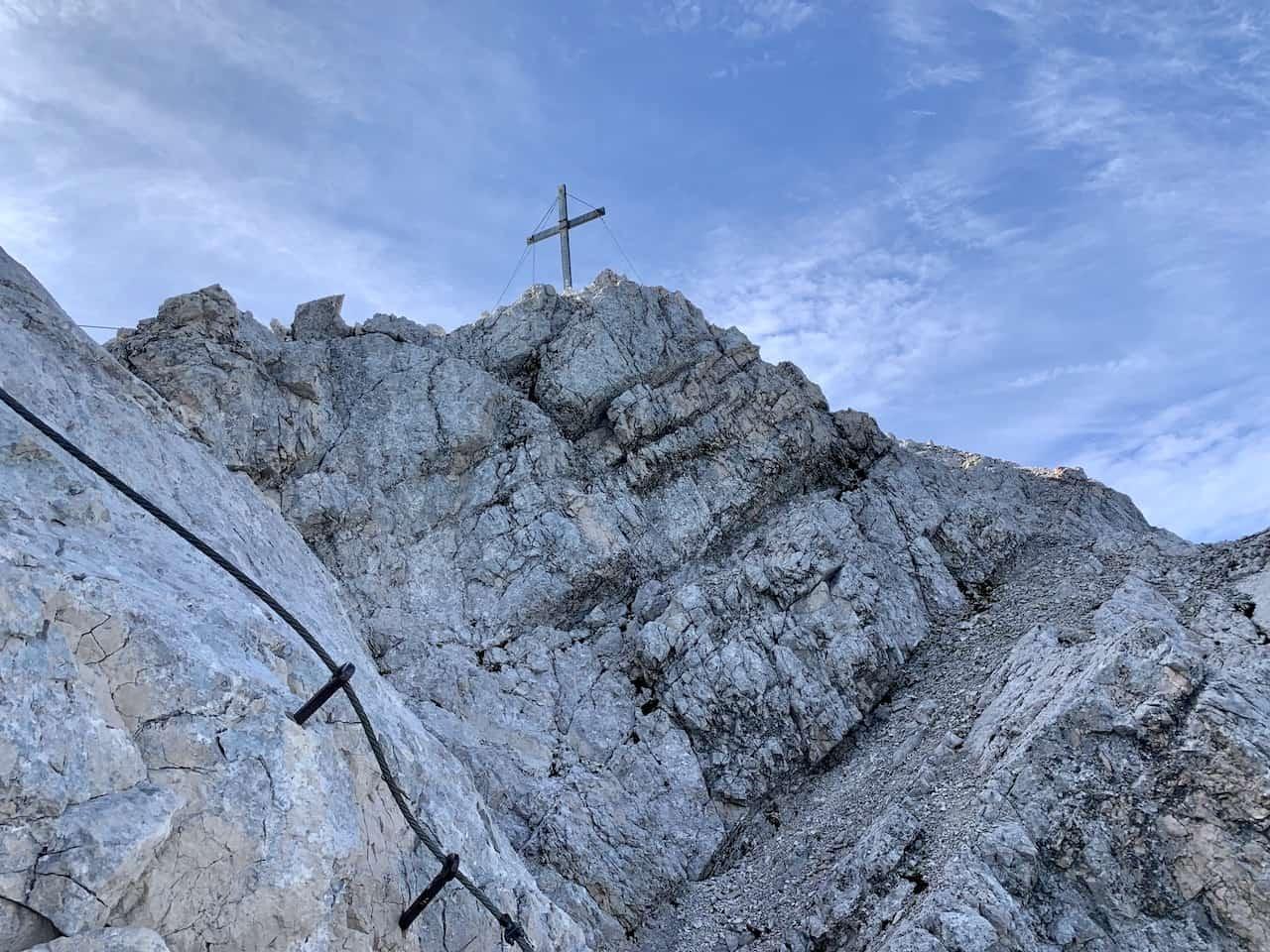 Alpspitze Cross