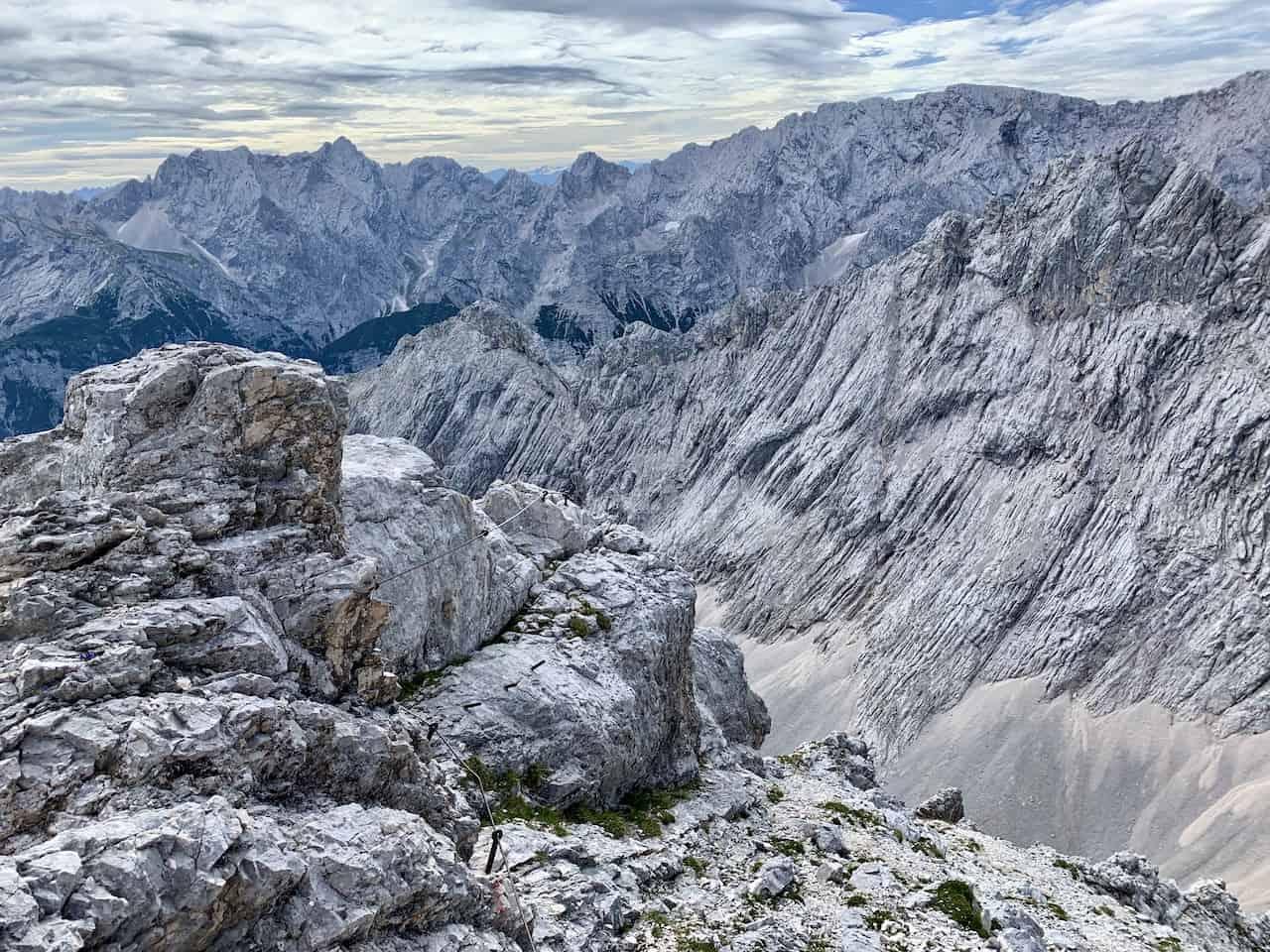 Alpspitze Hike Fixed Line