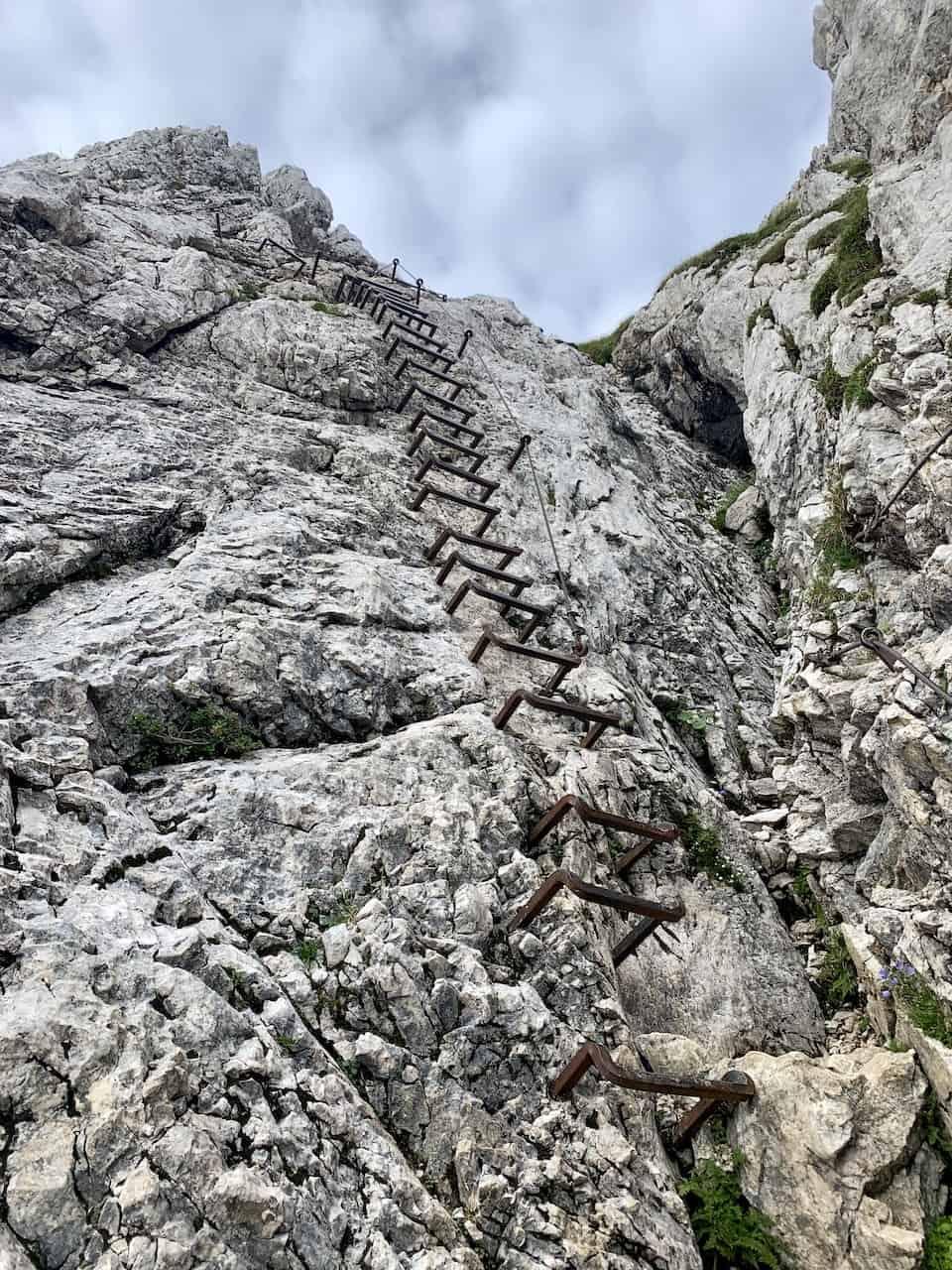 Alpspitze Klettersteig Ladder
