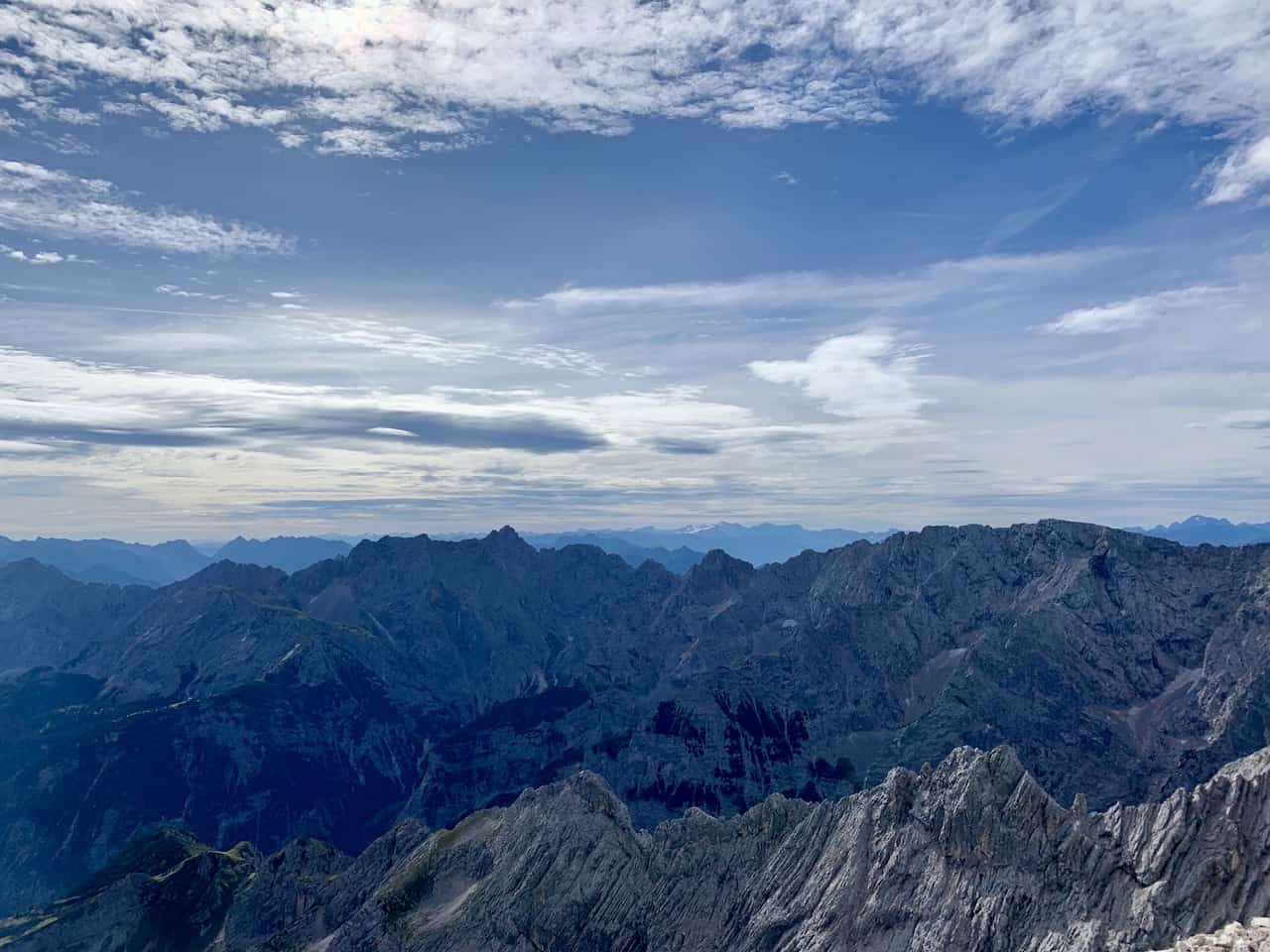 Alpspitze Mountain Summit