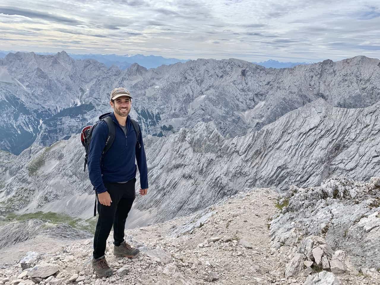 Alpspitze Summit Bavaria
