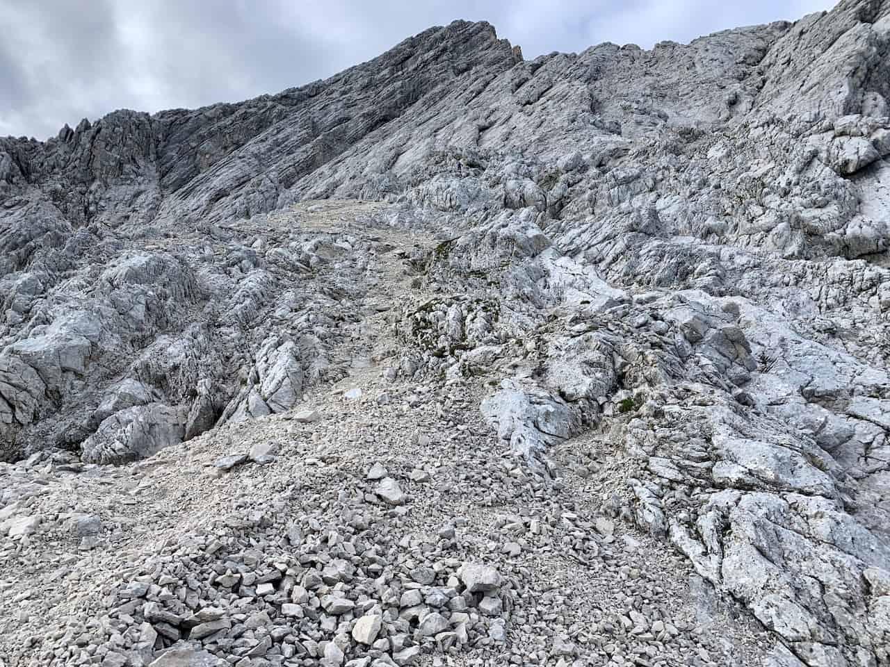 Alpspitze Via Ferrata Route