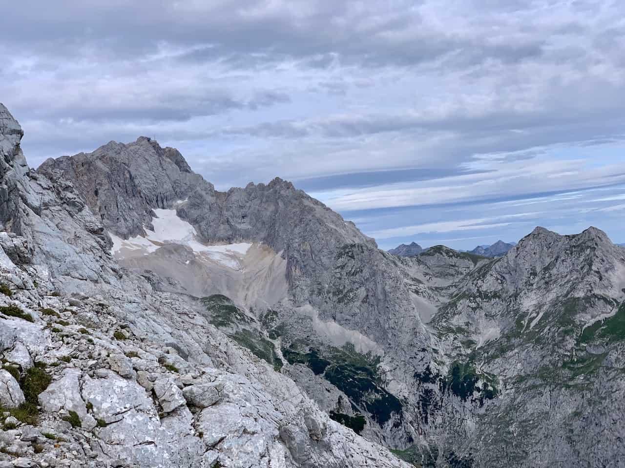 Alpspitze View of Zugspitze