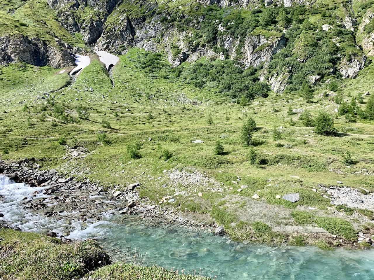 Austria Glacier Rivers