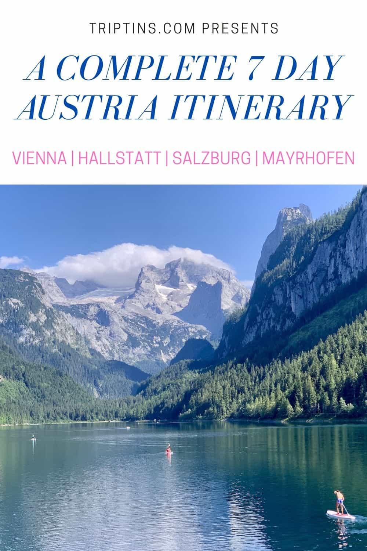 Austria Itinerary 7 Days