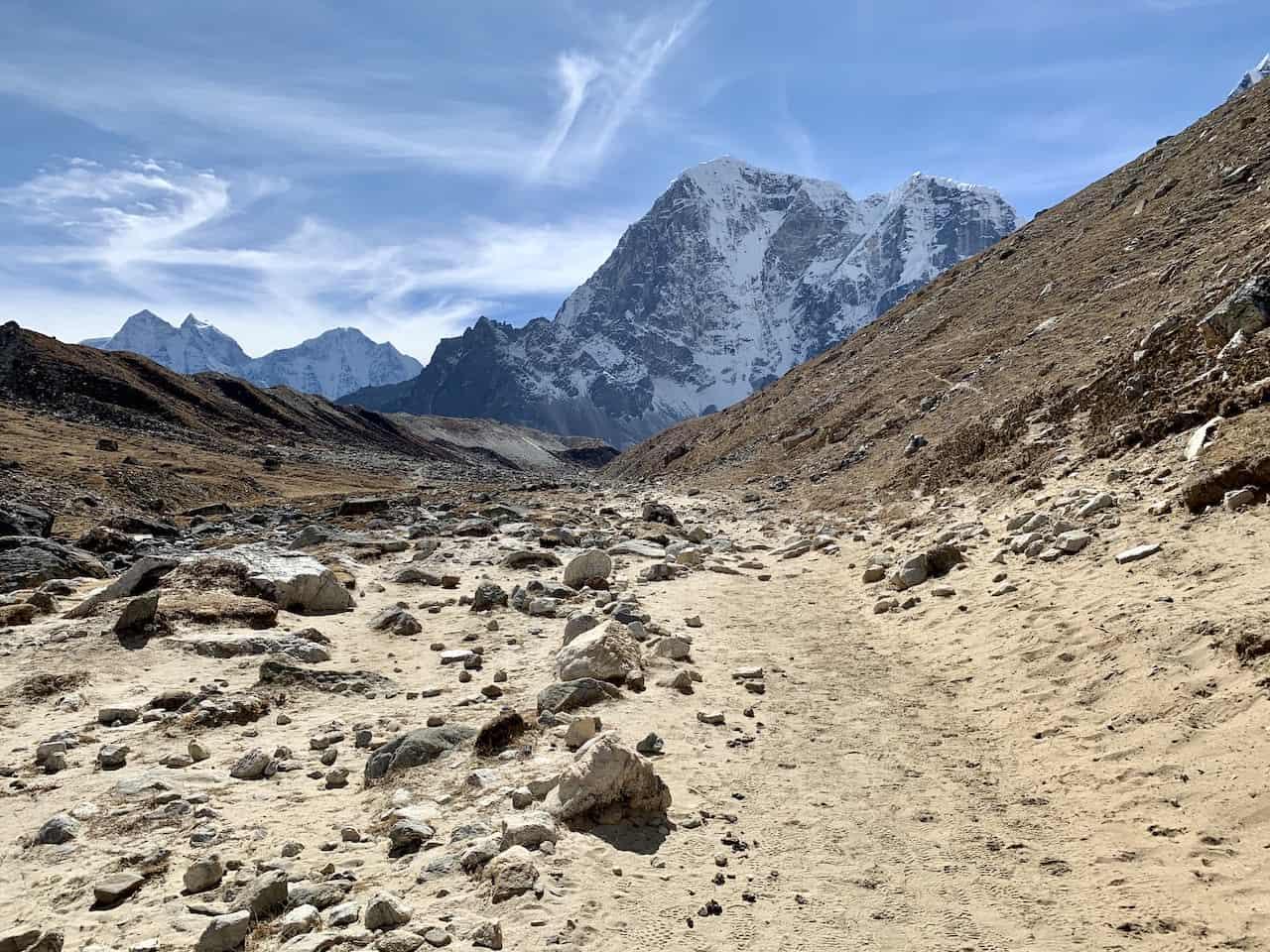 Dingboche to Lobuche Trekking