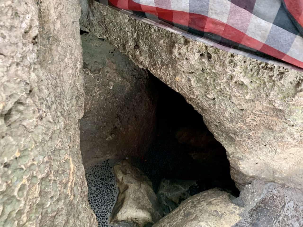 Goa Giri Putri Cave Entrance