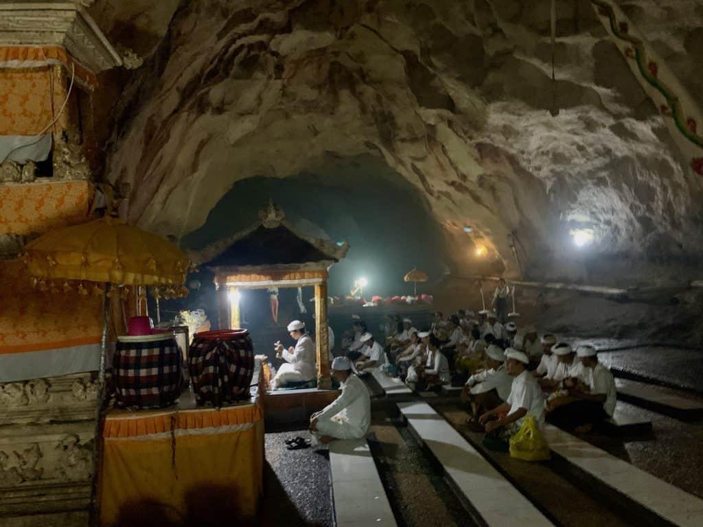 Goa Giri Putri Cave Temple
