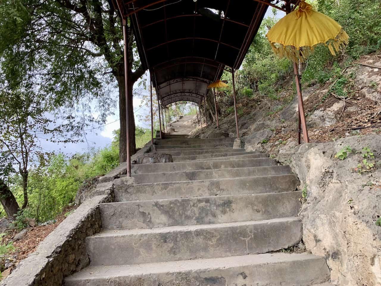 Goa Giri Putri Staircase