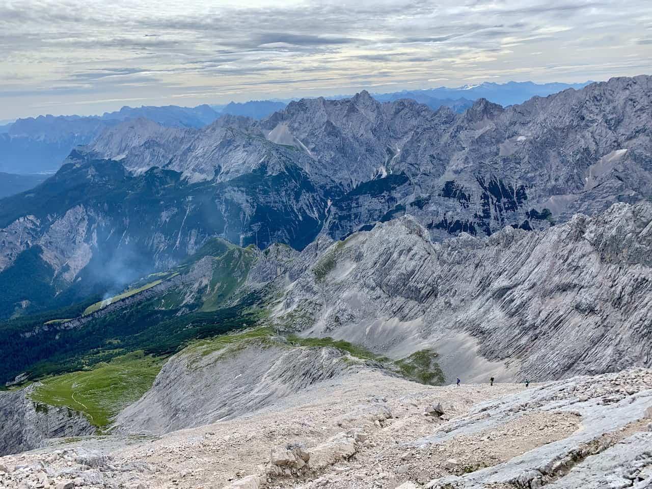 Hike Down Alpspitze