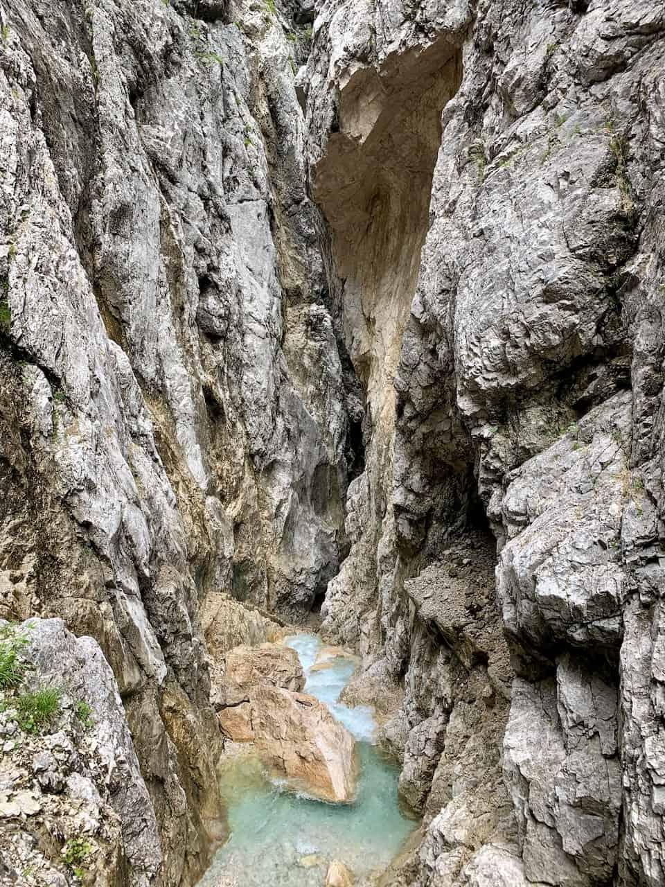 Höllentalklamm Gorge Bavaria