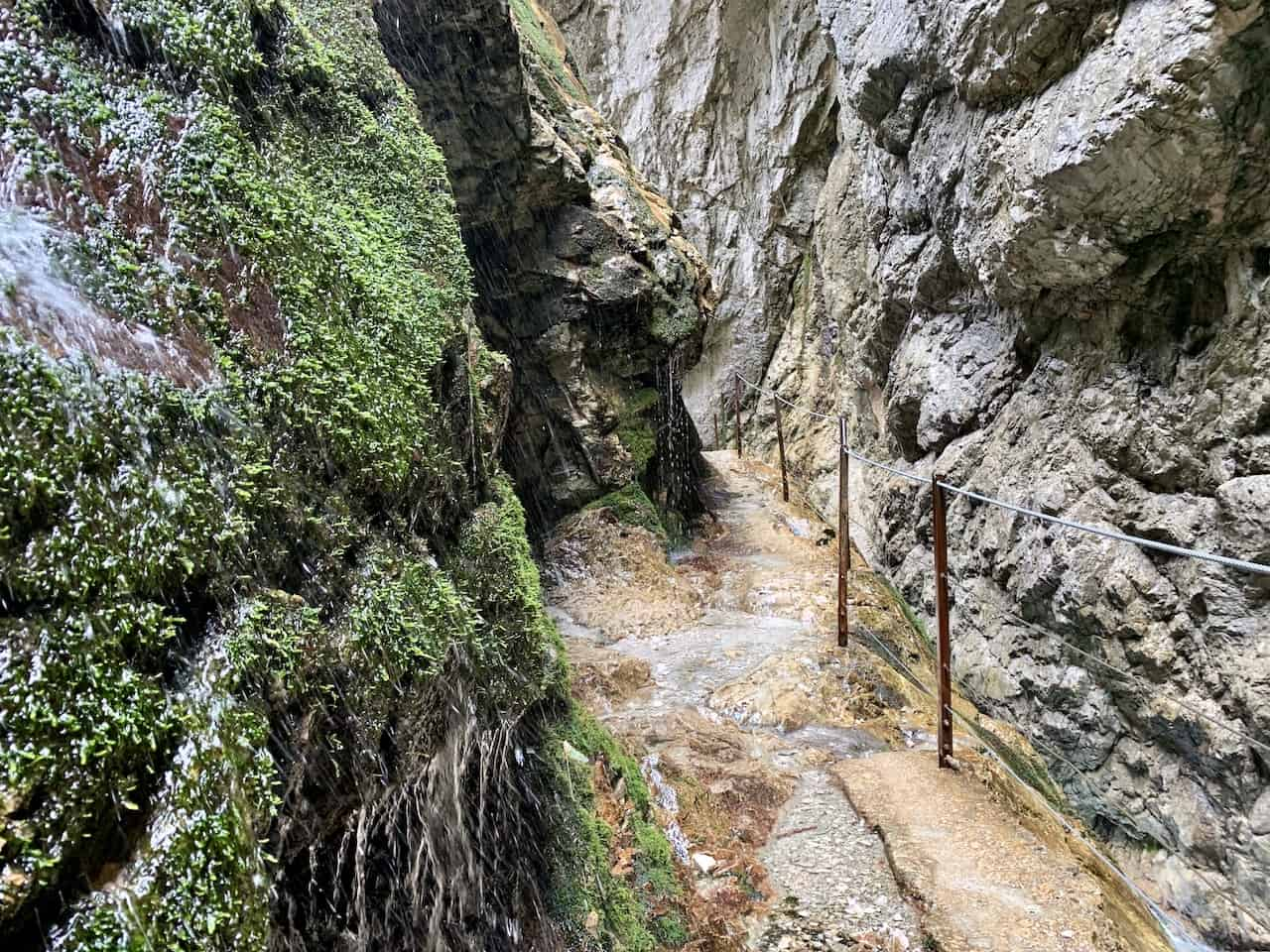 Höllentalklamm Gorge Path
