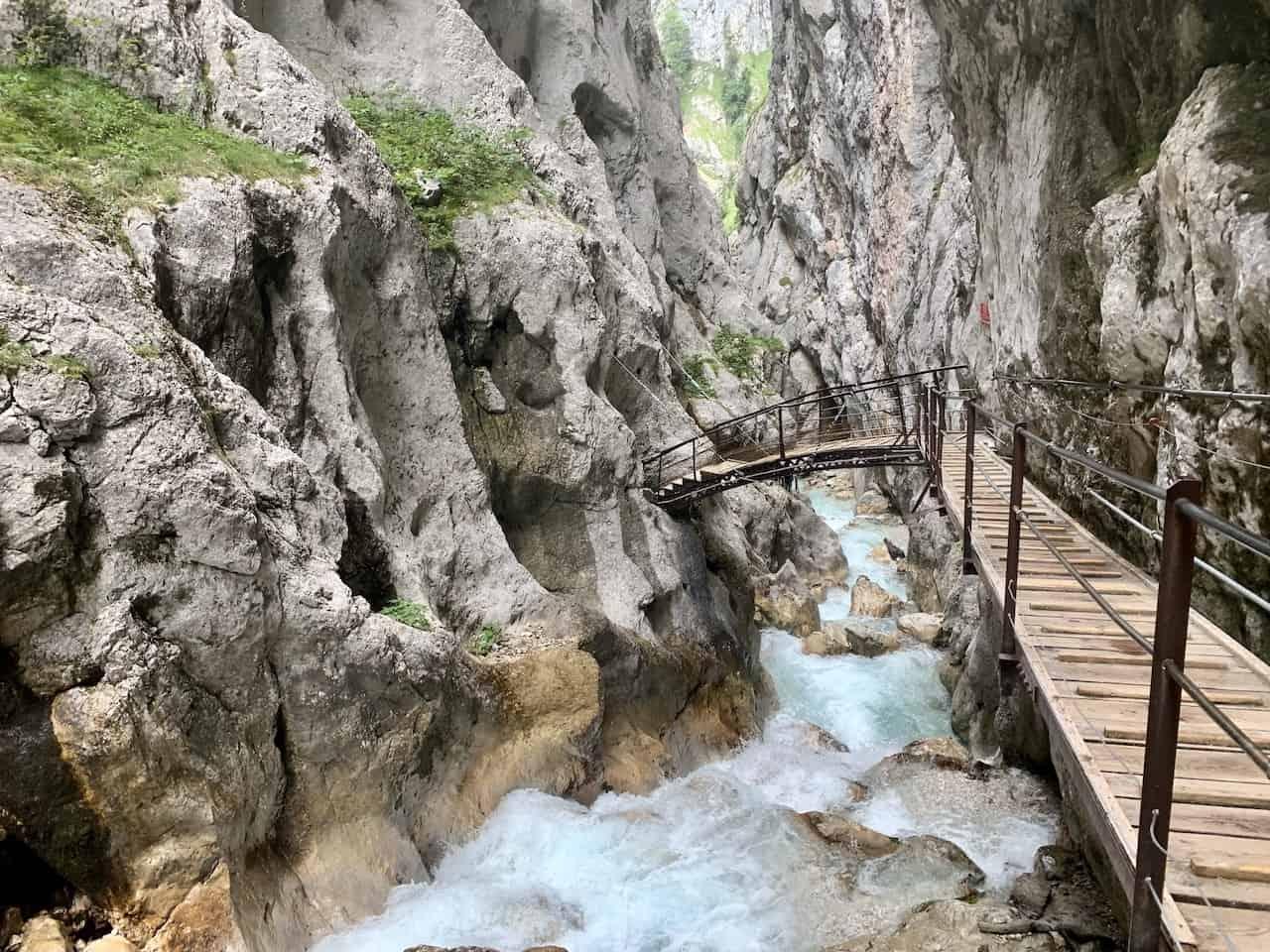Höllentalklamm Gorge River