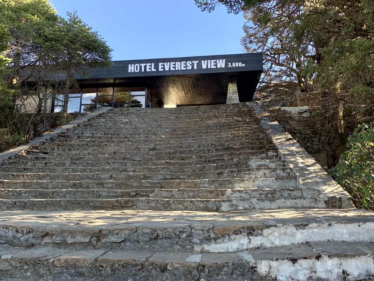 Hotel Everest View Entrance