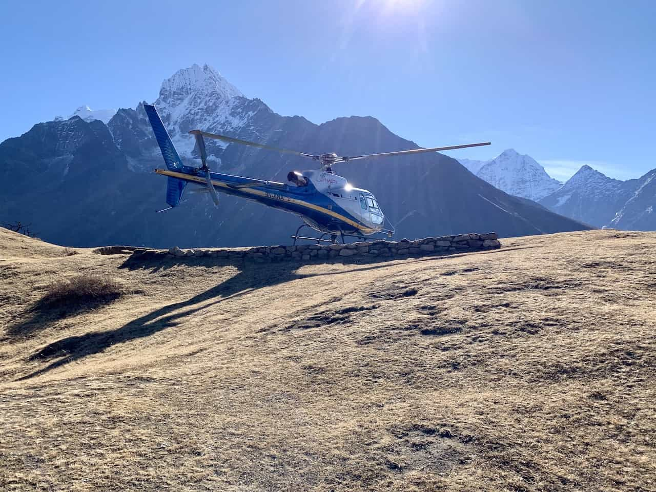 Hotel Everest View Hike Helicopter