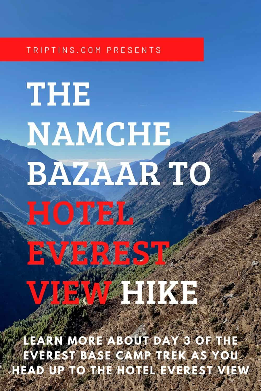 Hotel Everest View Hike