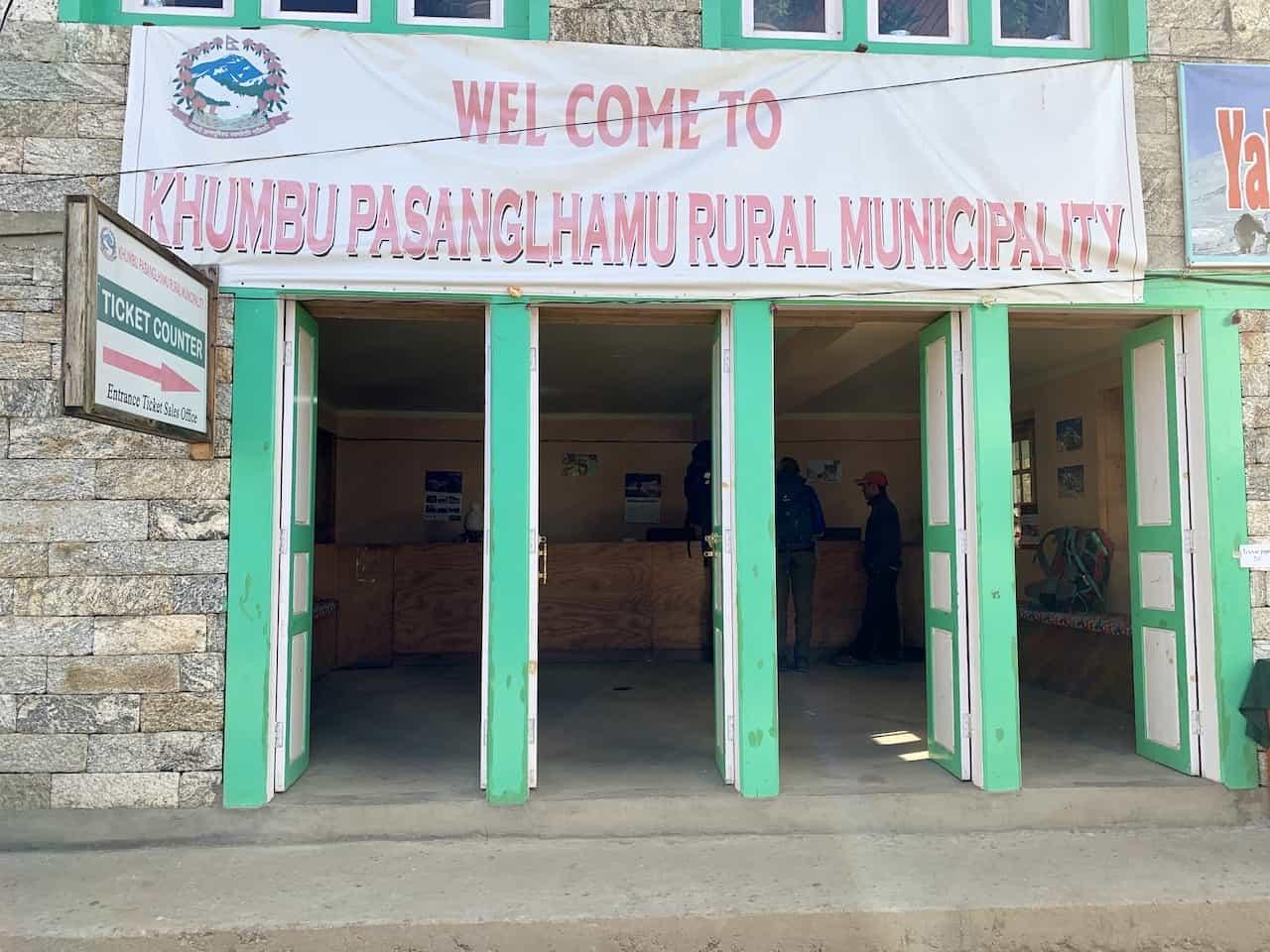 Khumbu Pasanglhamu Rural Municipality Permit