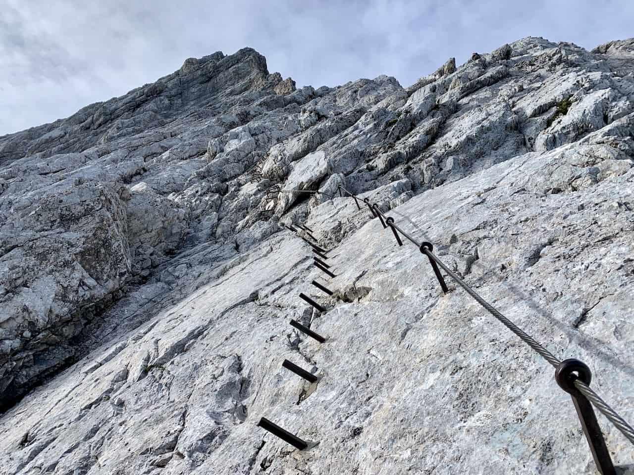 Klettersteig Route Alpspitze