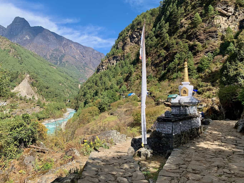 Lukla to Phakding Trekking