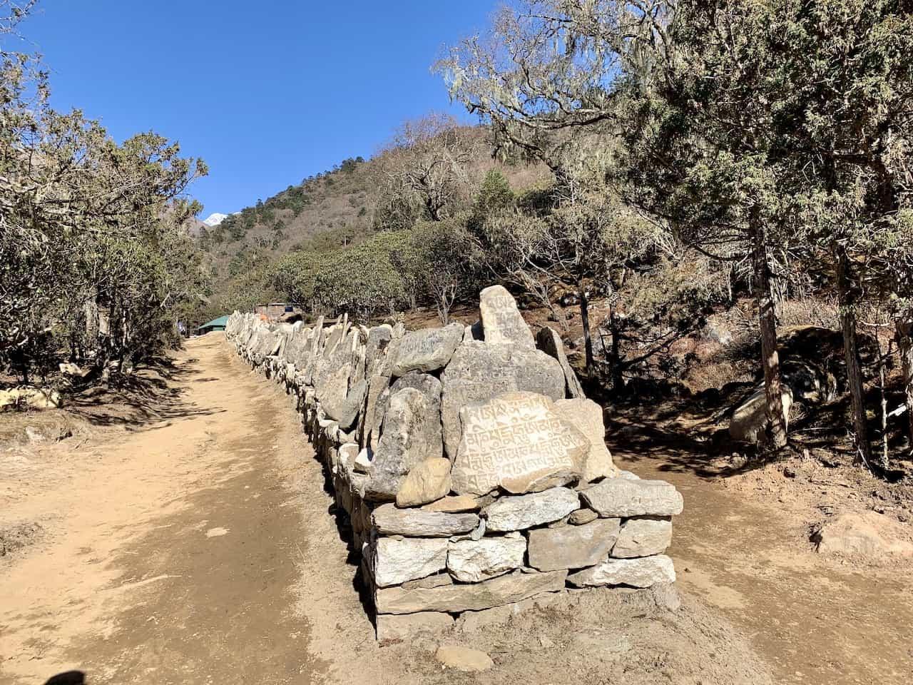 Mani Stones Everest Base Camp Trek