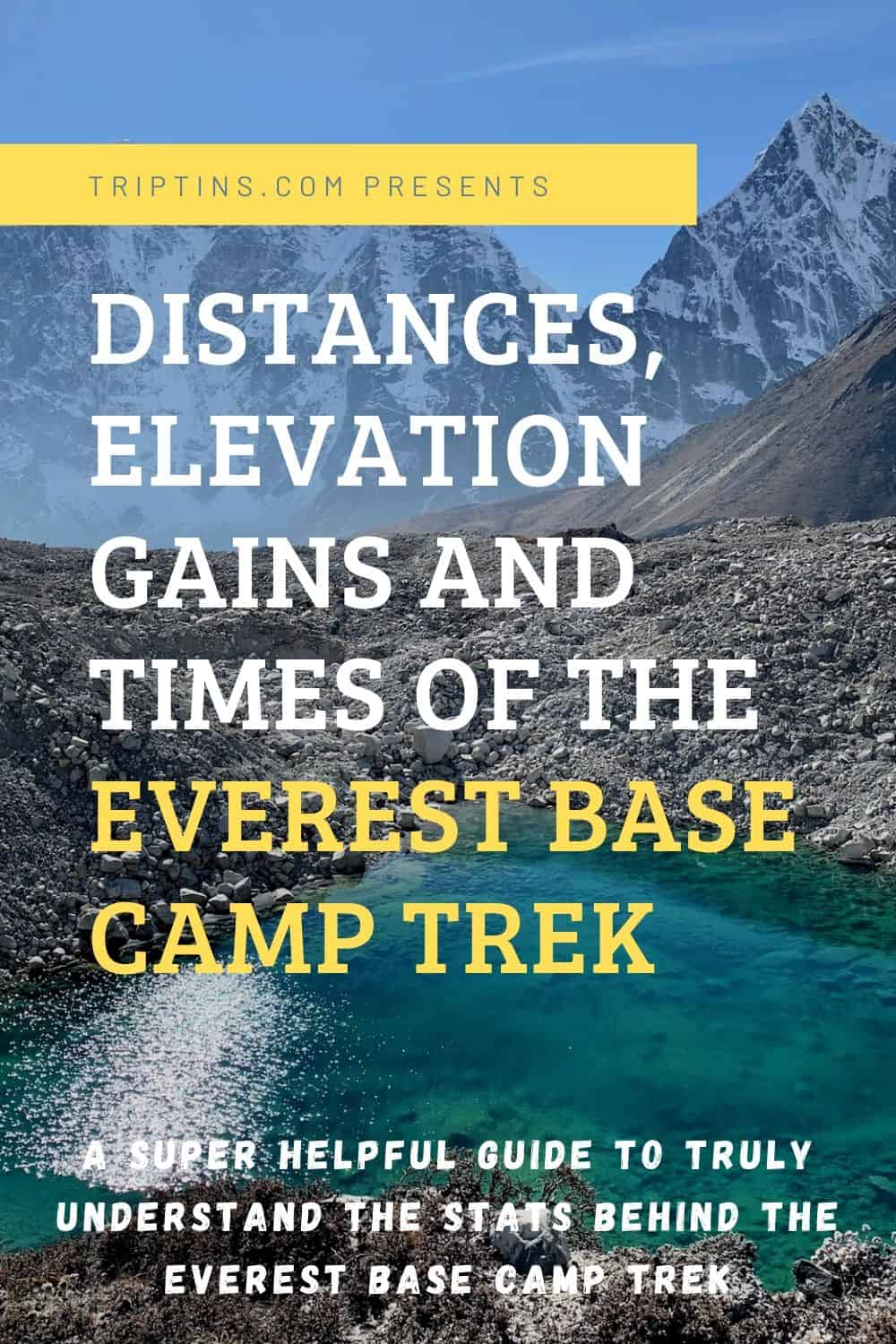 Mount Everest Base Camp Elevation Gain
