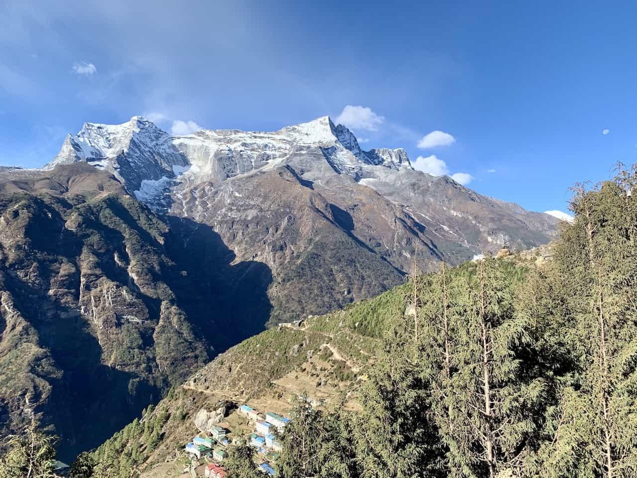 Namche Bazaar Mountain Range