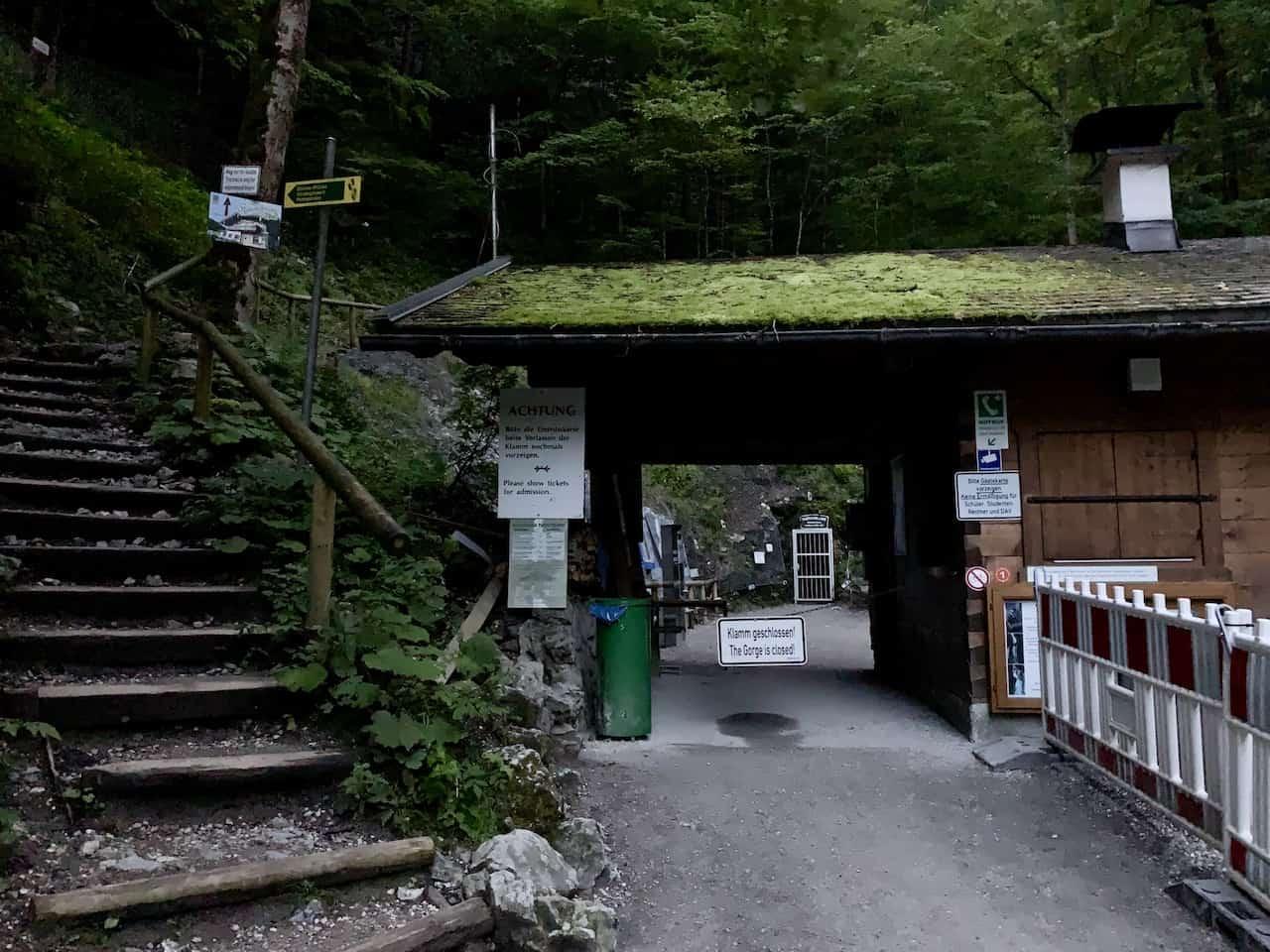 Partnach Gorge Entrance