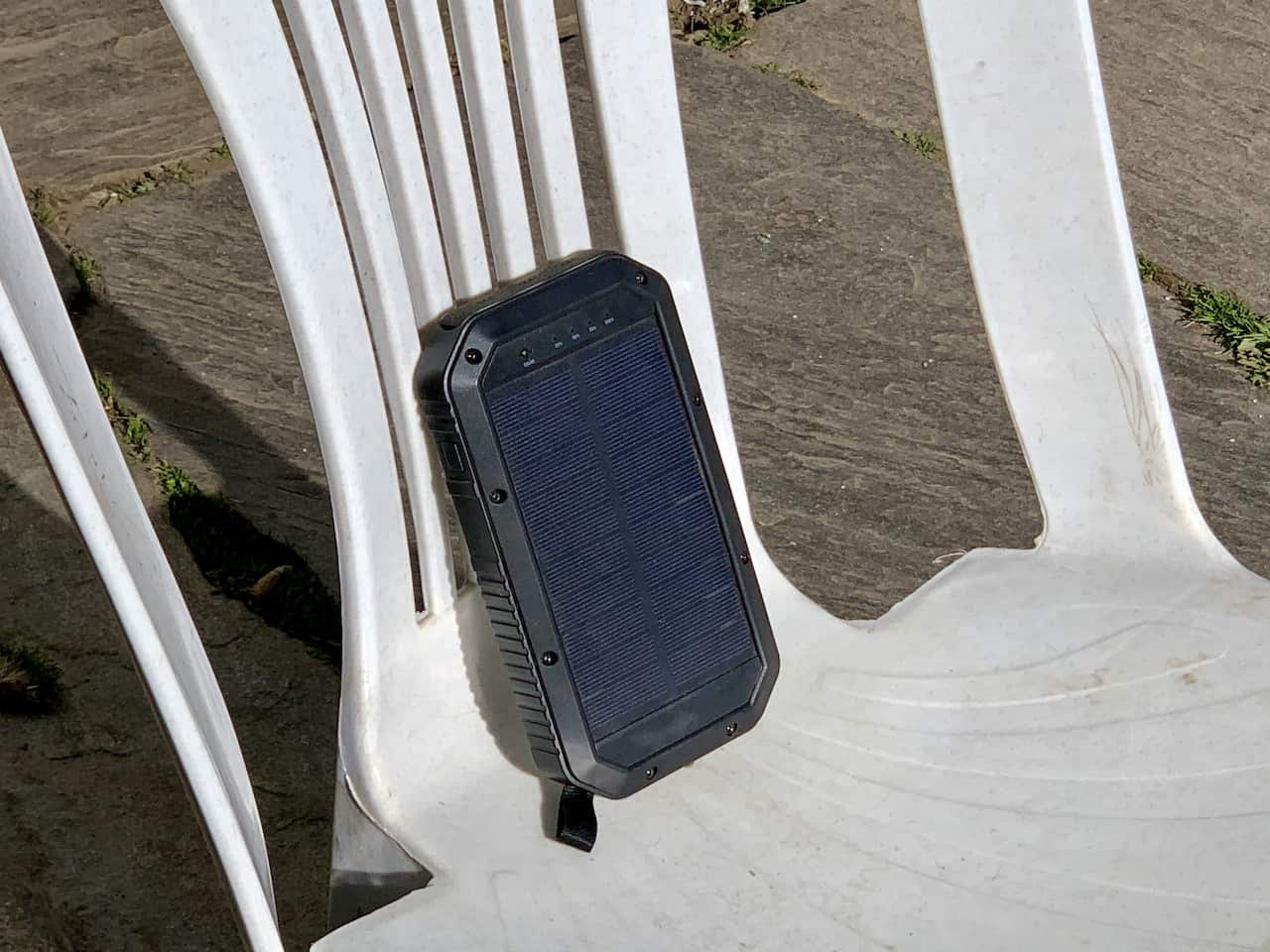 Solar Charger Everest Base Camp